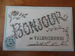 CP.Bonjour De Valenciennes.Brillants - Fancy Cards