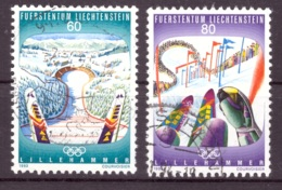 Liechtenstein 1993 - Oblitéré - Jeux Olympiques - Michel Nr. 1076-1077 (lie969) - Liechtenstein