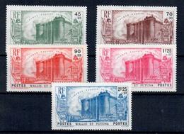 Wallis Y Futura  Nº 73/76.  Año 1939 - Wallis-Et-Futuna