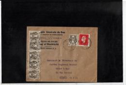 CTN61/C - CHAINES 10c X 6 + DULAC 2f40 SUR LETTRE COMMERCIALE JANVIER 1946 - France