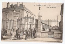 93 - AUBERVILLIERS - Usine Des Allumettes - Sortie Des Ateliers - Aubervilliers