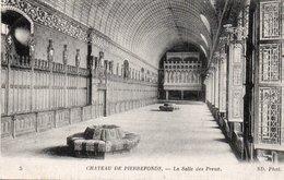 CPA PIERREFONDS - LE CHATEAU - LA SALLE DES PREUX - Pierrefonds
