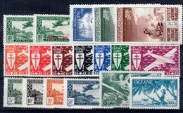 Oceanía (aéreo) Nº 1 Y 3/19. Años 1934-46 - Timbres