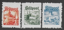 DANEMARK 1944 - OCCUPATION ALLEMANDE - MICHEL I/III - COPIES/FAUX - 1913-47 (Christian X)