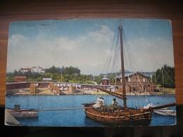 Croatia Mali Losinj Lussin Cigale Seebad 1914. Purger & Co. - Croazia