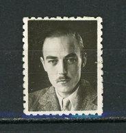 FRANCE - VIGNETTE PHOTO PERSONNAGE - Commemorative Labels