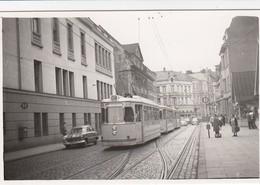 BGM Bonn - Mehlem - Linie G.M. - Bonn Rheinuferbahnhof - Emr.20 - 1956 - Bild 8 X 5,4 Cm - Bonn