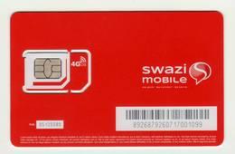 SWAZILAND GSM SIM MINT - Swaziland