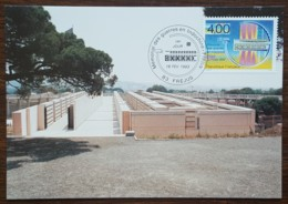 CM 1993 - YT N°2791 - MEMORIAL DES GUERRES EN INDOCHINE - FREJUS - 1990-99