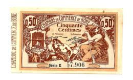 1914-1921 // C.D.C. // ALGERIE // BÔNE // Mai 1915 // 50 Centimes - Cámara De Comercio