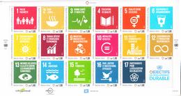 2016 United Nations ONU Sustainable Development Goals SDG's Complete Sheet Of 17 MNH @ BELOW FACE VALUE - Genf - Büro Der Vereinten Nationen