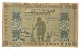 Netherlands Indies. 2 1/2  Gulden 1940, F/VF. (graff.) - Indes Neerlandesas