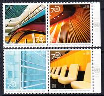 2016 United Nations ONU 70th Anniversary  Complete Set Of 2 Pairs MNH @ BELOW FACE VALUE - Genf - Büro Der Vereinten Nationen