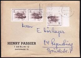 Germany Berlin 1969 / C. W. Allers - 1889 - Newspaper Seller. Zeitungsverkaufer - Cartas