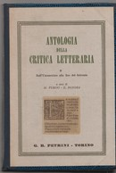 ANTOLOGIA DELLA CRITICA LETTERARIA - Encyclopédies