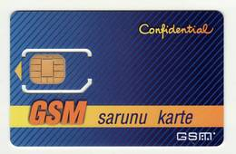 LATVIA GSM SIM (OLD&VERY RARE) MINT - Lettonie
