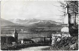 CPSM - TUZAGUET - Vue Sur La Vallée De La Neste Et La Chaîne Des Pyrénées - Autres Communes