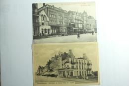 Lot 5 Cpa Blankenberghe - Belvedere Grand Hotel, Les Bains, Villas Boma Et Léopold, Le Pier - MU - Blankenberge