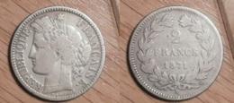 Cérès - 2 Francs 1871K - France