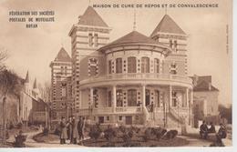 CPA Royan - Maison De Cure, De Repos Et De Convalescence - Fédération Des Sociétés Postales (avec Animation) - Royan