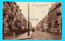 CPSM SCHAERBEEK-Bruxelles : Grande Rue Au Bois - Circulée En 1938 - P.I.B. N° 603 - Voir Les Scans - Schaerbeek - Schaarbeek