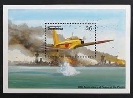 Dominica 1995**Mi.bl.291 Airplane , MNH [13;158] - Vliegtuigen
