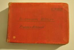 Dictionnaire De Poche Militaire Français Allemand 1901 Par M. CHARLES Voir Description - Army & War