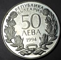 BULGARIJE : 50 LEVA 1994 PROOF KM 213 OLYMPICS - Bulgaria