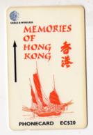 SAINTE LUCIE REF MV CARDS STL-311A Année 1999 EC$20 311CSLA Memories Of Hong Kong 2 - St. Lucia