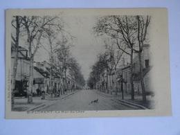 CPA 18  SAINT-FLORENT La Rue Du Cher Dos Simple RARE TBE - Saint-Florent-sur-Cher