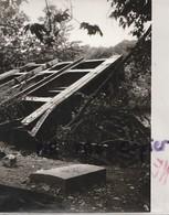 14  LIGNE VIRE LE BENY BOCAGE  CAEN  LA DESTRUCTION DU TABLIER LE 13 JUIN 1970 DU VIADUC DE LA SOULEUVRE PAR EIFFEL - Lieux