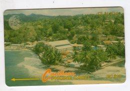 SAINTE LUCIE REF MV CARDS STL-9A Année 1993 EC$10 9CSLA Coastline - St. Lucia