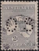 Australia      .    SG        .    O 18     .        O       .       Oblitéré    .   /   .   Cancelled - Officials