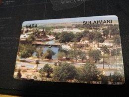 KURSISTAN   PREPAID CARD SARA SULAIMANI     Fine Used    **1363 ** - Irak