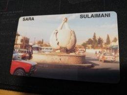 KURDISTAN   PREPAID CARD SARA SULAIMANI     Fine Used    **1364 ** - Irak