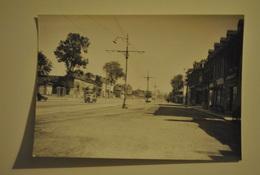 Photo Photographie Rouen 1948 Voitures Tramway - Places