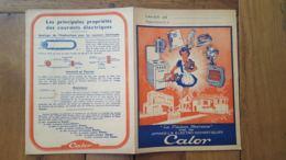 PROTEGE CAHIER  CALOR ELECTROMENAGER - Löschblätter, Heftumschläge