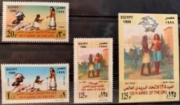 EGYPT - MH* - 1999 - # 1703/1706 - Nuovi