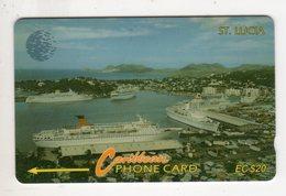 SAINTE LUCIE REF MV CARDS STL-16B Année 1995 EC $20 16CSLB Cruiseline - St. Lucia