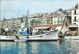 Sète (34) - Un Coin De La Marine - Chalutier - Sete (Cette)