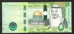 SAUDI ARABIA   50  RIYALS  2017 UNC - Arabie Saoudite