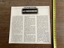 DOCUMENT STARWARS STAR WARS LE PHENOMENE DANNY DE LAET - Vecchi Documenti
