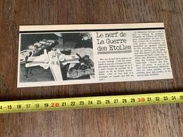 DOCUMENT STARWARS STAR WARS LE NERF DE LA GUERRE DES ETOILES ROBOTS C3P0 R2D2 MASQUES DARTH VADER - Vecchi Documenti
