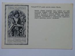 59 Mucha Alphonse Alfons 1939 For The Blind Dik Slepcu - Mucha, Alphonse