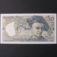 50 Francs Quentin De La Tour 1977, SPL - 1962-1997 ''Francs''