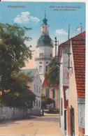 Köningsbrück - Blick Von Der Dresdnerstraße Nach Der Stadtkirche - Koenigsbrueck