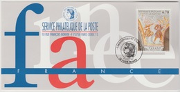 150 Carte Officielle Exposition Internationale Exhibition Carolophilex Charleroi 1997 France FDC Tavant Tableau Art Kuns - Sonstige