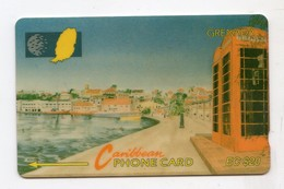 GRENADE CARAIBES TELECARTE CABLE & WIRELESS MV Cards GRE-10B 1995 EC $20  CN 10CGRB - Grenada