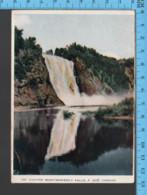 Momontrency - Quebec - Carte Lettre, Les Chutes Montmorency - Pub. Folkard - Postcard, Carte Postale - Québec - Les Rivières
