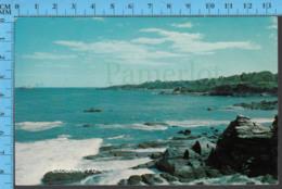 Cacouna - Quebec - View Along The Rocky Shore - Pub. Folkard - Postcard, Carte Postale - Autres